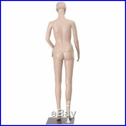Female Full Size Body Mannequin Plastic Realistic Clothing Store Display Stand