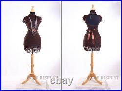 Female Historical Form Mannequin Dress Form Hard Form #FH02BK+BS-01NX