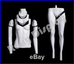 Female Invisible Ghost Mannequin with Magnetic Fittings (U-neck)