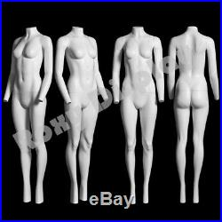 Female Invisible Ghost Mannequin with Magnetic Fittings (V-neck)