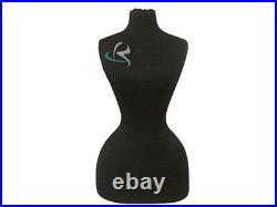 Female Jersey Form Mannequin Manequin Manikin Dress Form #FH02BK+BS-02BKX