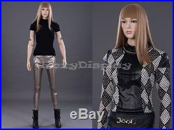 Female Mannequin Dress Form Display With flexible head arms and legs #Z-FFXF-MD