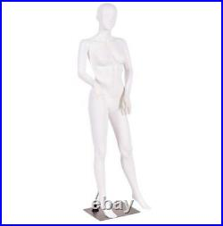 Female Mannequin Plastic Full Body Dress Form Display