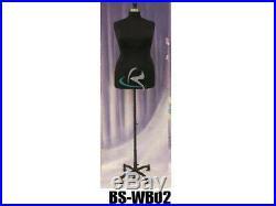 Female Plus Size 18-20 Mannequin Manequin Manikin Dress Form #F18/20BK+BS-WB02T