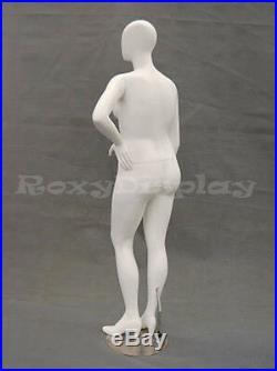 Female Plus Size Egg Head Mannequin Dress Form Display #MD-NANCYW3
