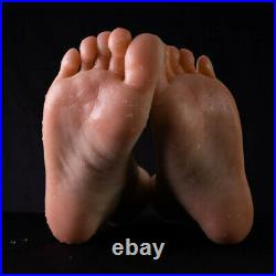 Female Silicone Foot Mannequin One Right Or Left Male Feet Display Model 25CM