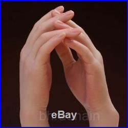 Female Silicone Mannequin Hand Display Model Prop Lifesize One Left Or Right