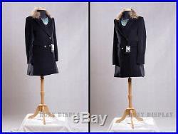 Female Size 10-12 Mannequin Manequin Manikin Dress Form #F10/12BK+BS-01NX