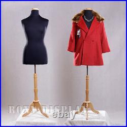 Female Size 14-16 Mannequin Manequin Manikin Dress Form #F14/16BK+BS-01NX