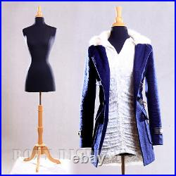 Female Size 2-4 Jersey Cover Body Form Mannequin Dress Form #F2/4BK+BS-01NX