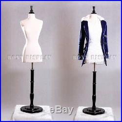 Female Size 2-4 Mannequin Manequin Manikin Dress Form #F2//4W+BS-03W