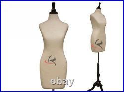 Female White Form Mannequin Manequin Manikin Dress Form #F01C+BS-02BKX