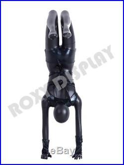 Female Yoga Style Fiberglass Mannequin Display Dress Form #MC-YOGA04BK