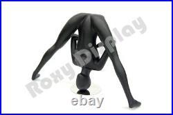 Female Yoga Style Fiberglass Mannequin Display Dress Form #MC-YOGA06BK