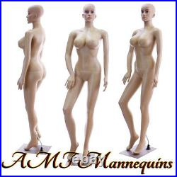 Female mannequin display sexy manquin, head rotate, Full body manikin-SP24+2Wigs