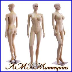 Female mannequin display sexy manquin, head rotate, dressform manikin-SP22+2Wigs