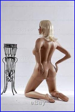 Female mannequins brand new mannequin kneeling sexy full body manikin- Julie