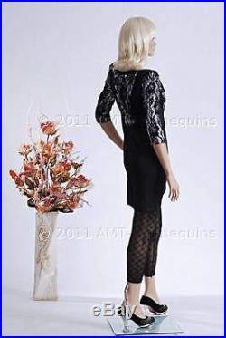 Female mannequins standing hand made fiber glass full body manikin IVY