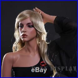 Fiberglass Female Display Mannequin Manikin Manequin Dummy Dress Form MZ-LISA13