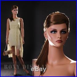 Fiberglass Female Display Mannequin Manikin Manequin Dummy Dress Form MZ-LISA3