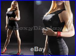 Fiberglass Female Display Mannequin Manikin Manequin Dummy Dress Form MZ-VIS1