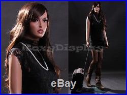 Fiberglass Female Manequin Mannequin Display Dress Form #LISA9-MZ+FREE WIG