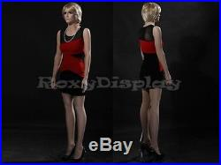 Fiberglass Female Manequin Mannequin Display Dress Form #MZ-ZARA4+FREE WIG