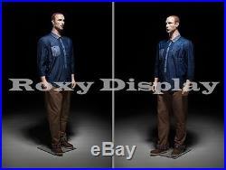 Fiberglass Male Display Mannequin Manikin Manequin Dummy Dress Form #PLUSMAN2-MZ
