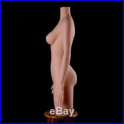 Fiberglass Mannequin Torso with Arms Form Display Lifesize Dummy/soft/Female