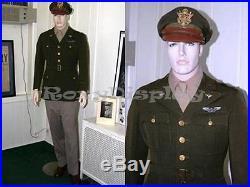 Fiberglass Realistic Male Mannequin Dress Form Display #MD-7001F2