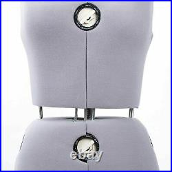 Free Shipping Adjustable Dress Form Sewing Female Mannequin Torso Stand Medium