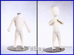 Full body Children Kid Mannequin Dress Body Form Flexible Foam 3M #CH03M