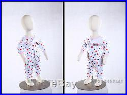 Full body Children jersey covered flexible children mannequin dress from #CH06M