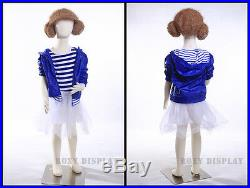 Full body jersey covered flexible children mannequin Dress Form Display #CH07T