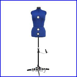 GEX 13 Dials Adjustable Dress Form Sewing Female Mannequin Torso Stand Large