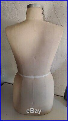GLOBAL MODEL FORMs, collapsible dress form size 12 Model 2000 Mannequin