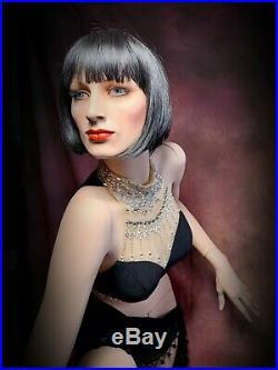 HINDSGAUL Female Mannequin Full Realistic Vintage Unique Face & Pose RARE