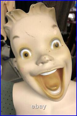 If Bart Simpson Was Mannequin Head Torso Child Kid Children Manniquin Realistic