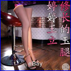 LIfelike Silicone Female Mannequin Sexy Long Leg Foot Model Shoes Display Prop