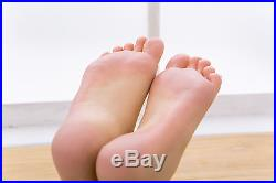 Lifesize Mannequin Foot Dummy arbitrarily-bent//posed/soft for Fetishist/Display