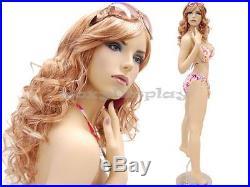Makeup Sexy Big Bust Fleshtone Female Display Mannequin Dummy Dress Form #ACK2X