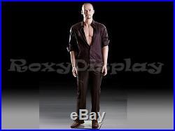 Male Fiberglass Realistic Mannequin Dress From Display #MZ-MIK04