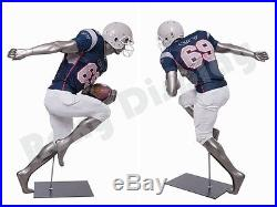 Male Fiberglass Sport Athletic style Mannequin Dress Form Display #BRADY10-MC