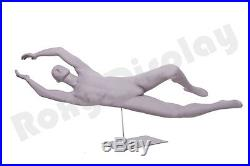 Male Fiberglass Sport Athletic style Mannequin Dress Form Display #MC-CRIS05
