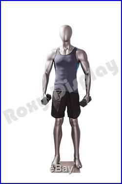 Male Fiberglass Sport Athletic style Mannequin Dress Form Display #MC-JSM03