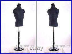 Male Mannequin Manequin Manikin Dress Form #33DD02-JF+BS-R02B