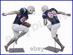 Male Mannequin Muscular Football Player Dress Form Display #MC-BRADY10