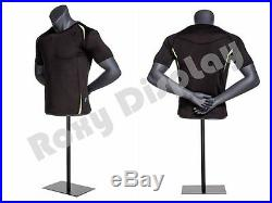 Male Mannequin Torso With nice body figure and arms #MZ-NI-7