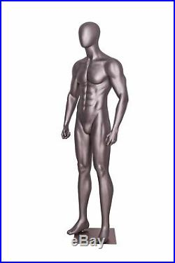 Male Sports Athletic Mannequin Egg Head Style Muscular Mannequin