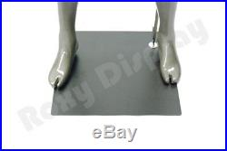 Male Sports Mannequin Abstract Style Muscular Football Player (Grey)